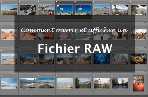 Comment ouvrir, lire et afficher un fichier RAW NEF Nikon ?