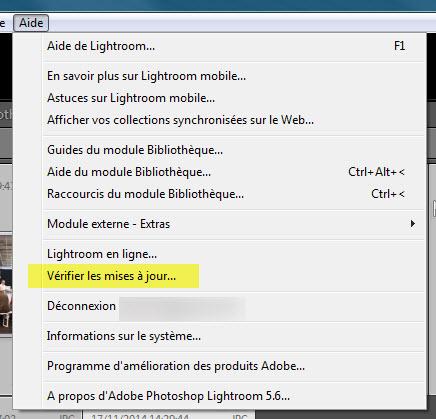 Comment ouvrir fichiers RAW NEF Nikon D750 avec Lightroom