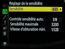Réglage ISO_Auto Nikon