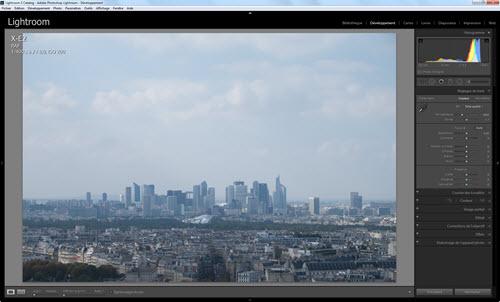 Comment traiter un fichier RAW dans Lightroom - logiciels photo