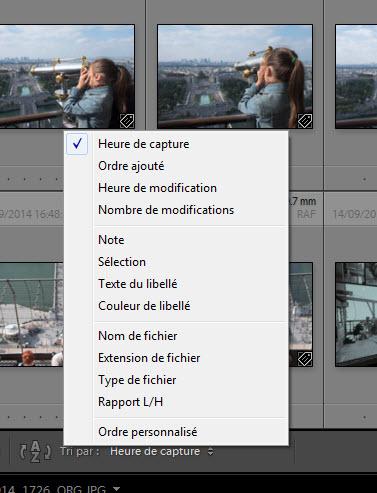 Comment trier les photos - logiciels photo