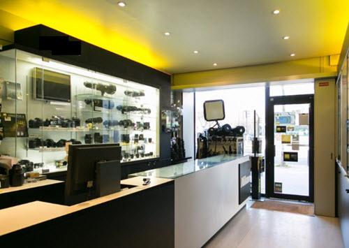 la boutique photo Nikon Paris