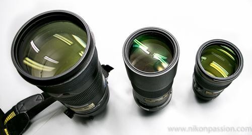 Comparaison Nikon 300mm f/2.8 - f/4