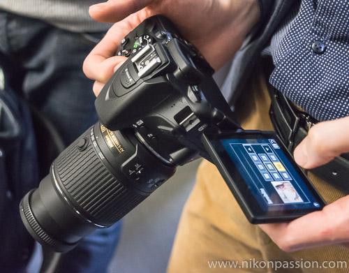 Nikon D5500 présentation et test