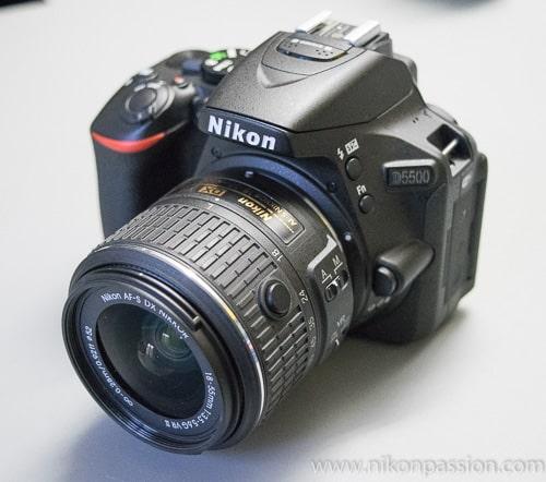 Mise à jour firmware Nikon D5500