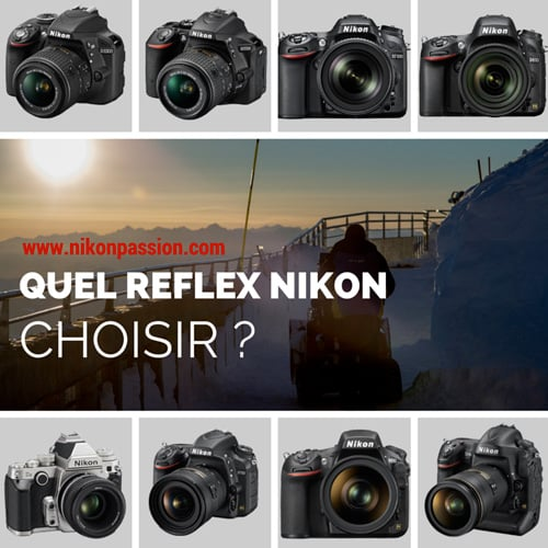 quel reflex nikon choisir comment et pourquoi nikon passion. Black Bedroom Furniture Sets. Home Design Ideas