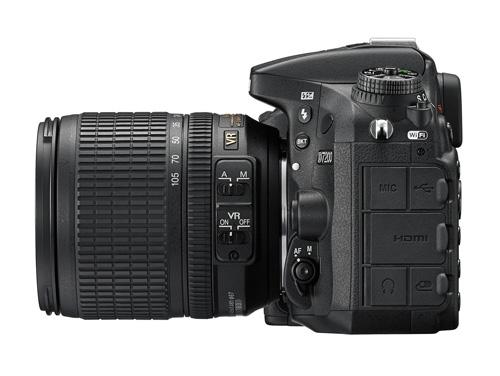 Nikon D7200 connectique