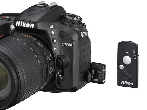 Nikon D7200 télécommande