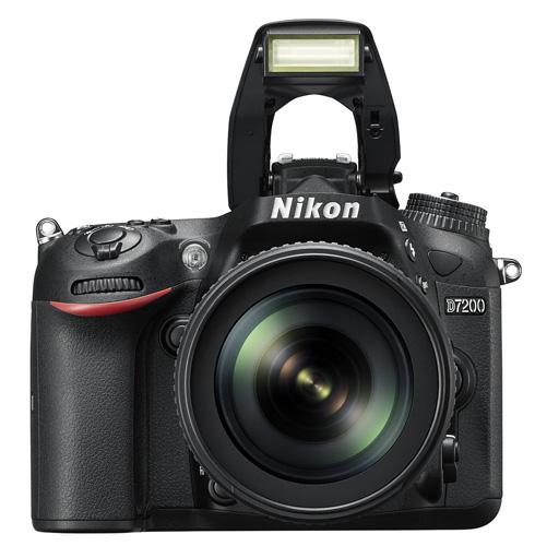 Nikon D7200 flash