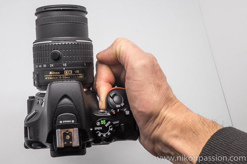 Test terrain Nikon D5500