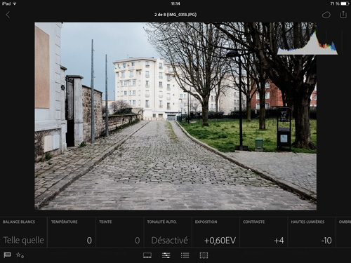 Lightroom Mobile sur iPad - Lightroom 6 vs. Lightroom Classic CC