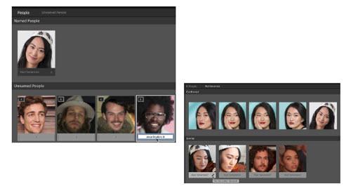 Lightroom 6 et Lightroom CC reconnaissance des visages