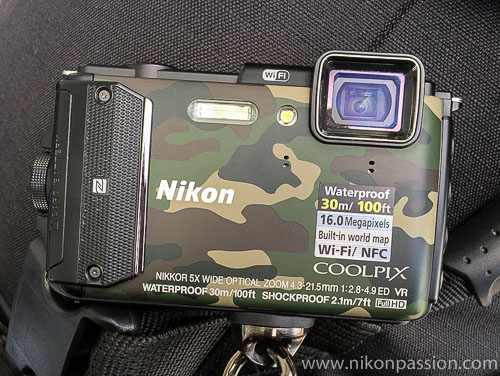 est terrain Nikon Coolpix AW130