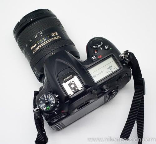 Test terrain Nikon D7200