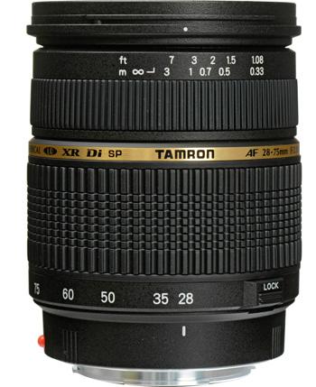 Tamron SP AF 28-75 mm f/2.8 XR Di Macro