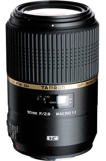 Tamron SP AF 90 mm f/2.8 Di Macro 1:1 VC USD