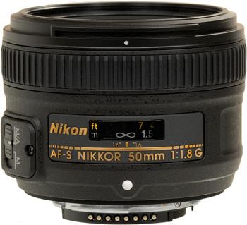 Nikon AF-S 50 mm f1.8 G objectif Nikon pas cher