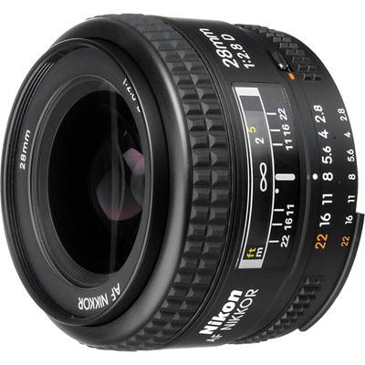 Nikon AF NIKKOR 28 mm f/2.8D objectif Nikon pas cher