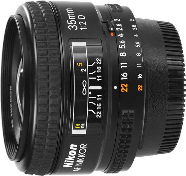 Nikon AF 35 mm f/2 D objectif Nikon pas cher