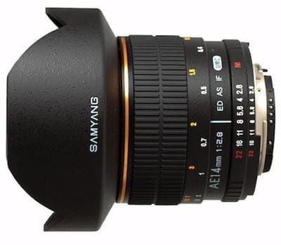 SAMYANG 14 mm AE f/2.8 IF ED UMC