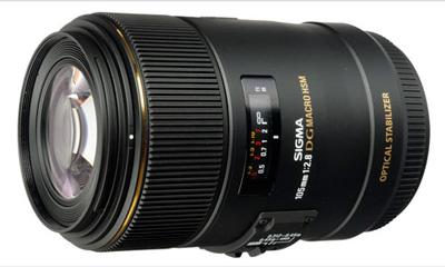 Sigma 105 mm f/2.8 DG EX Macro OS HSM