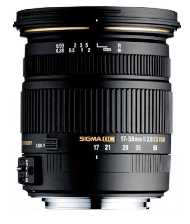 Sigma 17-50 mm f/2.8 DC OS HSM EX