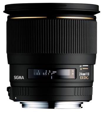 Sigma 24 mm f/1.8 DG Asphérique EX Macro
