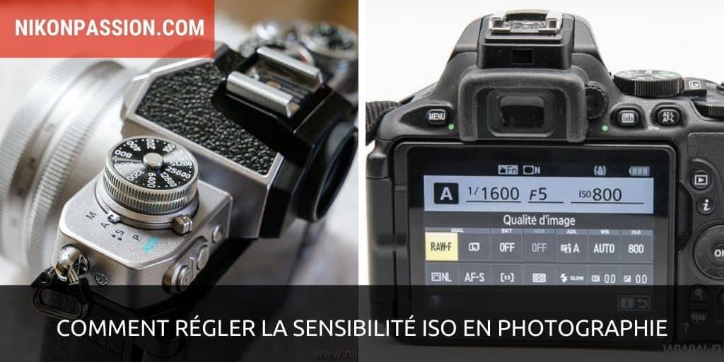 Comment régler la sensibilité ISO en photographie