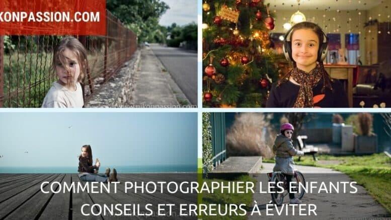Comment photographier les enfants, conseils et erreurs à éviter