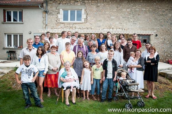 Comment faire des photos de famille anniversaire fete mariage groupes