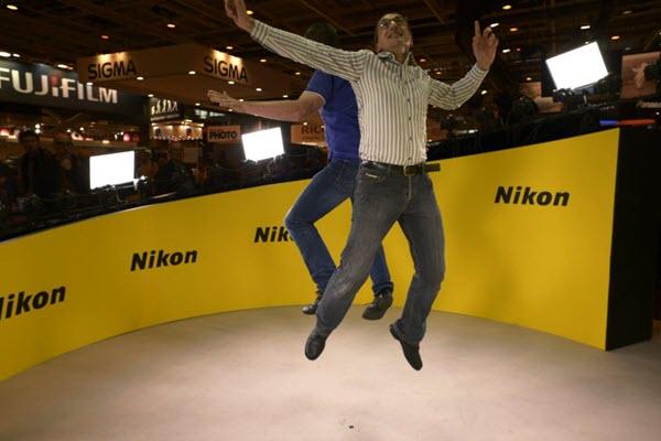 Animation 360 sur le stand Nikon au Salon de la Photo 2015