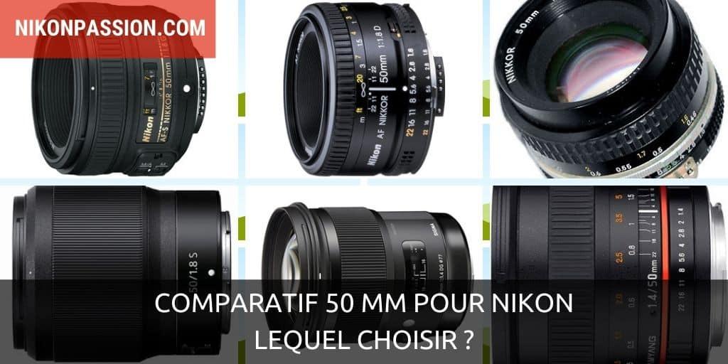 Comparatif 50 mm pour Nikon : Nikon, Sigma, Zeiss, Samyang