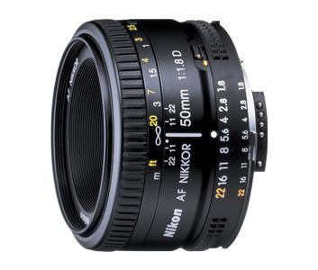 Nikon 50mm f/1,8 AF-D