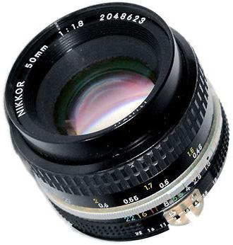 Nikon 50 mm f/1,8 AI-S