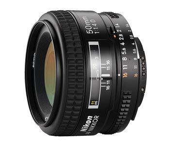 Nikon AF-D NIKKOR 50 mm f/1,4