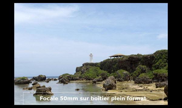 Exemple de comparaison objectif 50mm sur boîtieir FX plein format Nikon
