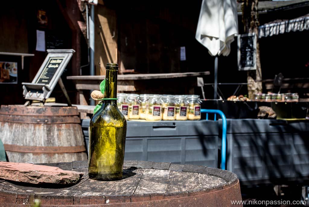 Photos de paysage urbain avec un téléobjectif à Collonges la Rouge