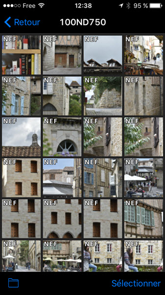 Comment utiliser Nikon WMU, l'application de pilotage WiFi