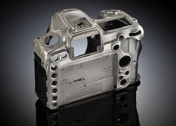 Nikon D500 chassis magnesium