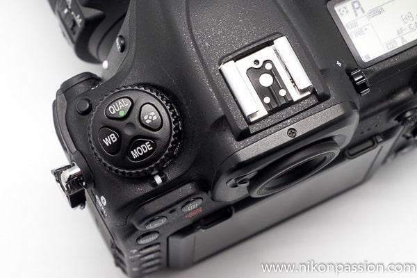 Test Nikon D500 commandes trèfle