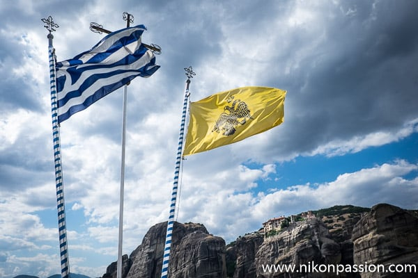 Photographie de paysage : Grèce Météores