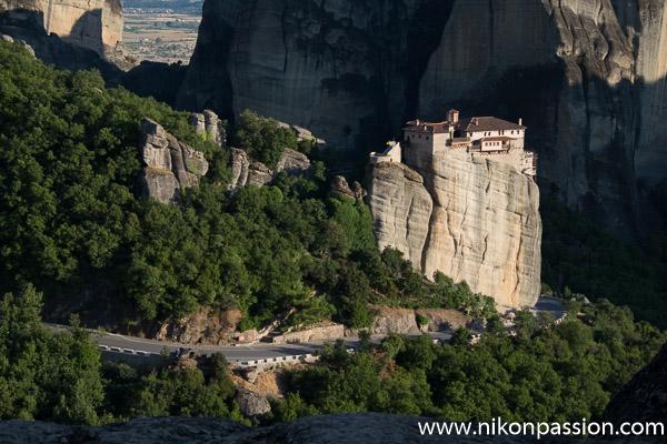 Photographie de paysage : les Météores en Grèce