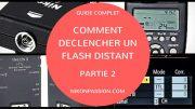 Déclencher un flash à distance