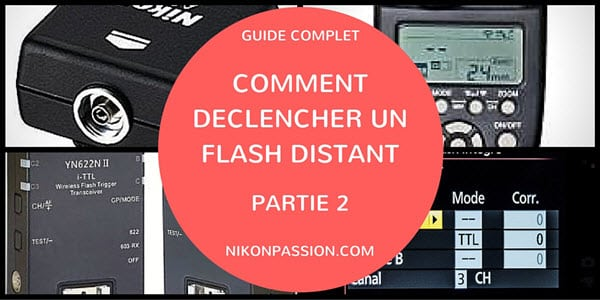 Déclencher un flash à distance