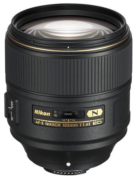 Nikon AF-S 105mm, l'objectif à grande ouverture f/1.4 pour le portrait