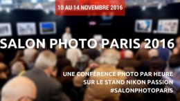 conférences Salon de la Photo