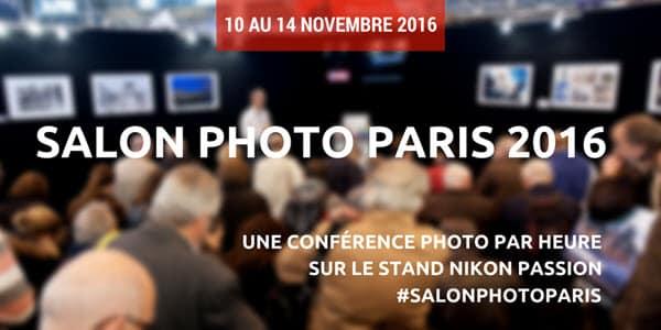 conférences Salon de la Photo