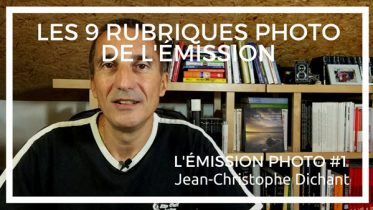 L'émission photo avec Jean-Christophe DIchant