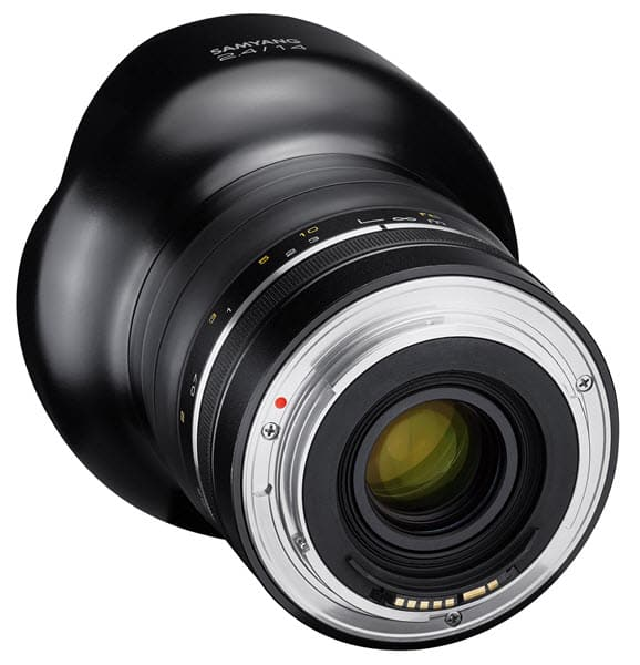Samyang 14mm f/2.4, mise au point manuelle et monture Nikon
