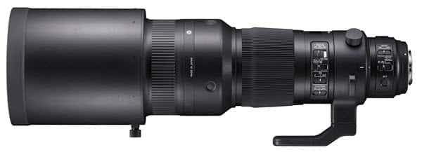 Sigma 500mm f/4 DG OS HSM, stabilisation et réactivité guide d'achat objectif